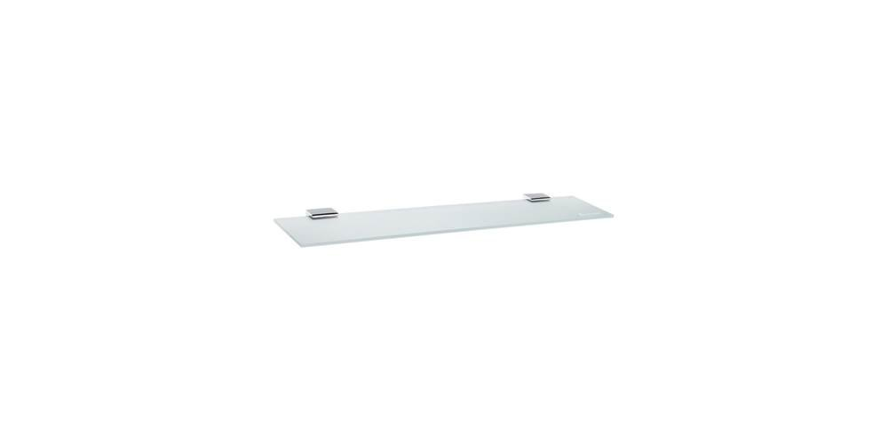 Smedbo Spa 24-in Bathroom Shelf Polished Stainless Steel