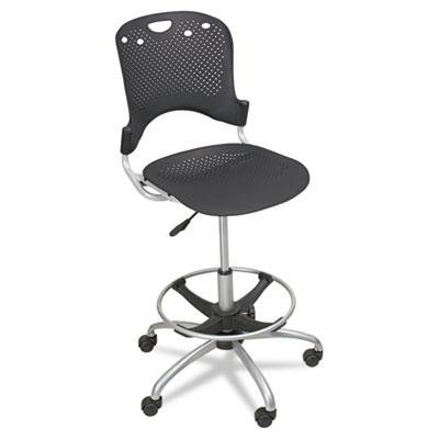 Balt 34643 Steel Circulation Task Stool - Black