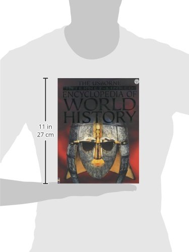 The Usborne Internet-Linked Encyclopedia Of World History by Brand: Usborne Pub Ltd (Image #1)