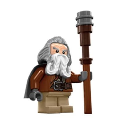 LEGO The Hobbit: OIN The Dwarf Minifigure (Lord of The Rings): Toys & Games