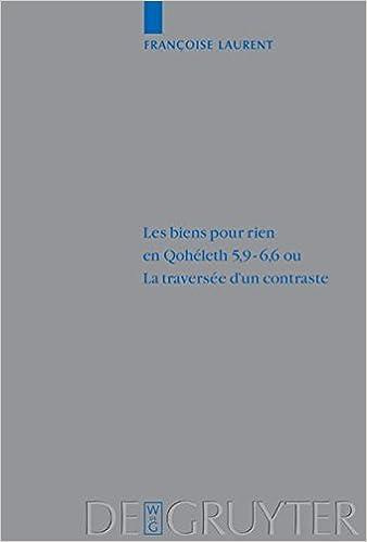En ligne téléchargement gratuit Biens Pour Rien En Qo 5,9-6,6 Qu LA Traversee D'UN Contraste pdf, epub ebook