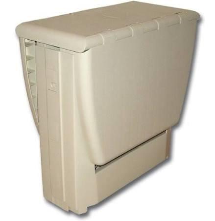 101-6BWG B & R Plastics 6PK FOLD STOOL BL/WH/GREY