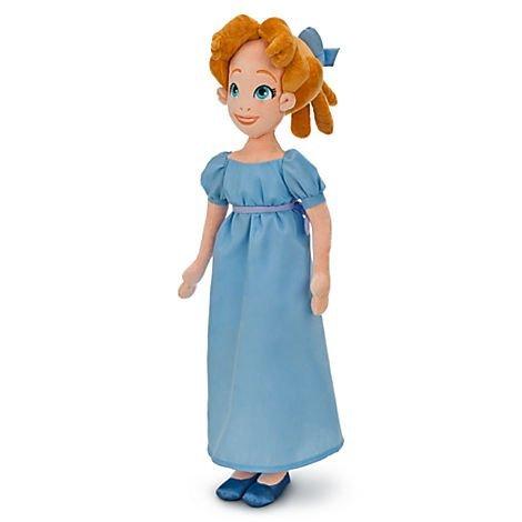 Peter Pan Plush (Disney Wendy Plush Doll From Peter Pan - 20'')