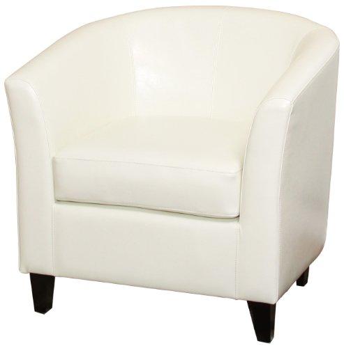 Best Selling Preston Club Chair, Ivory