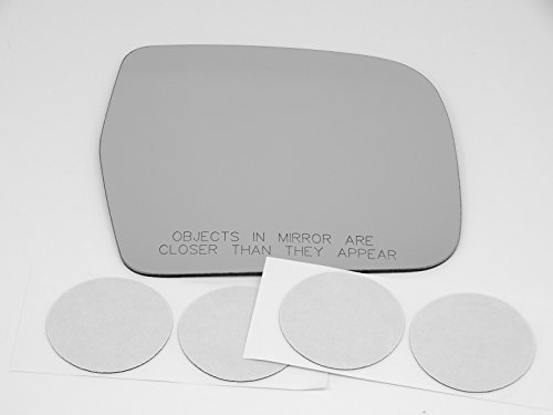 (90-95 Toy 4Runner, 93-98 T100 Right Passenger Convex Power Mirror Glass Lens w/Adhesive USA no backing plate)