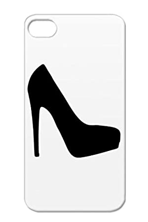 Black Symbols Stilettos Shapes High Heels Shopping Bitch