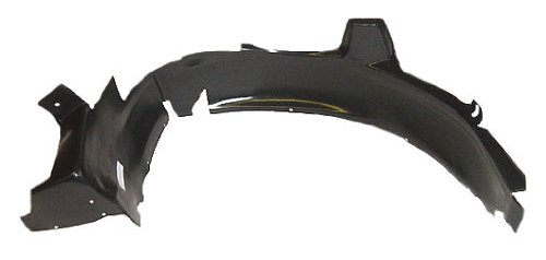 OE Replacement Pontiac Grand Prix Front Passenger Side Fender Inner Panel (Partslink Number GM1249131) Unknown