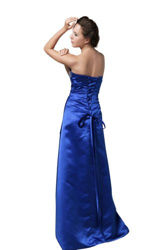 WD1148 Blau Royalblau HBH Hamburger hamburg hochzeits shop Abendkleid Brautmoden Y4CfxpBSwq