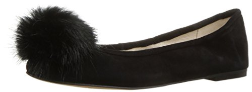 Sam Edelman Womens Farina Balletto Camoscio Nero Piatto