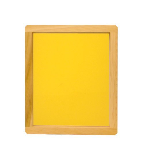 Wood Screen with 230 Yellow Mesh - 20x24in