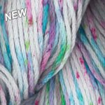 Plymouth Cotton Yarn - Fasntasy Naturale 100% Mercerized Cotton (9501 Tropical Splash)