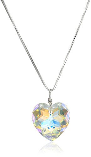 Sterling Swarovski Elements Borealis Necklace