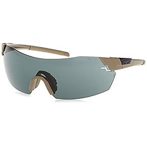 Smith Optics Elite Pivlock V2 Tactical Sunglass, Gray/Clear/Ignitor, Tan 499