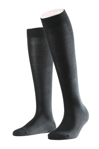 Falke Sensitive London Cotton Knee High Socks (47626) S/M/Black -