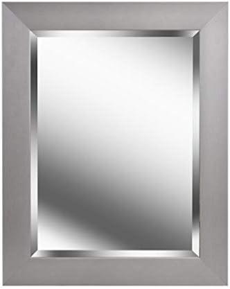 Kenroy Home 60361 Drake Mirrors, Brushed Steel