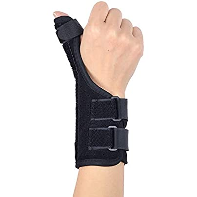 WEATLY Tenosynovitis Wristband Thumb Sprain Fracture Fixed Protective Force Tendon Sheath Cyst Mother Wrist Pain Edition Right Estimated Price £19.34 -