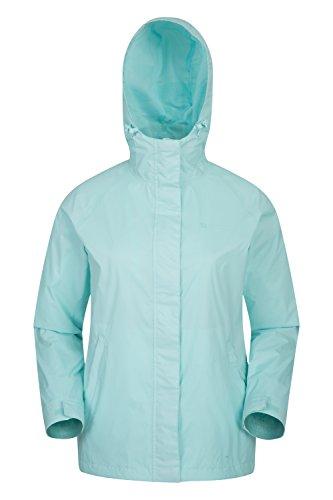Warehouse con donna Impermeabile campeggio completamente cappotto da con Blu 2 Mountain Viaggi leggero da tasche nastrate cuciture Giacca giacca Torrent zip donna 6dwxFxqt
