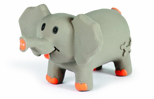 CHARMING Pet Lil Roamers Pet Squeak Toy, Large, Elephant ()