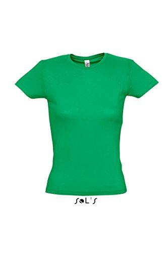 SOL'S - Camiseta - para mujer Kelly Verde
