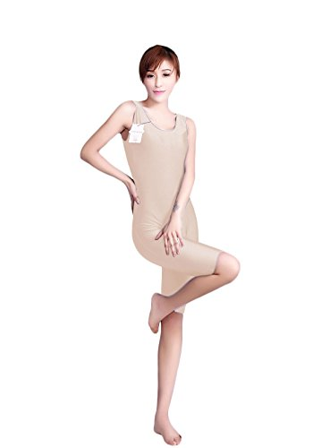WOLF UNITARD Tank Biketard Leotard Unitard for Adult and Child Medium (Nude Colored Leotard)