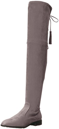Marc Fisher Women's Olympia Over The Over The Knee Boot, Grey, 6 Medium US