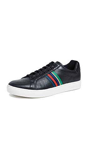 PS by Paul Smith Men's Lapin Sneakers, Black, 7 M - Smith Mens Paul Shoes