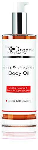 The Organic Pharmacy - Rose & Jasmine Body Oil (3.38 oz / 100 ml)
