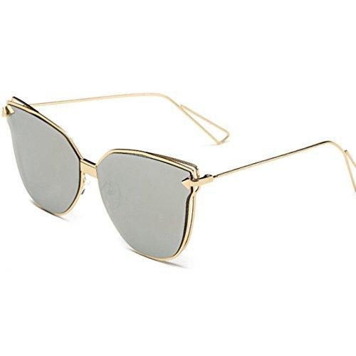 Aoligei Lunettes de soleil lady personnalité lunettes de soleil Europe et  Amérique tendance de la mode db76c6e65c3c