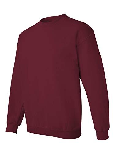 Gildan Men's Heavy Blend Crewneck Sweatshirt - XXX-Large - Garnet (Best Quality Crewneck Sweatshirts)
