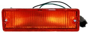 TYC 12-1229-52 Nissan Front Passenger Side Replacement Parking/Signal Lamp Assembly (Nissan Turn Signal)