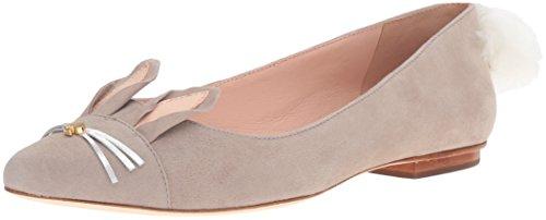 Kate Spade New York Women's Edina Ballet Flat, Clay, 8.5 M US]()