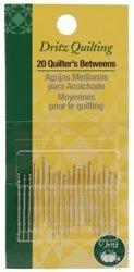 Bulk Buy: Dritz Quilting Quilter's Betweens Needles Size 7 20/Pkg 3040 (3-Pack) Prym Consumer USA Inc.
