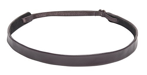 Smooth Leather Skinny Headband NHH033
