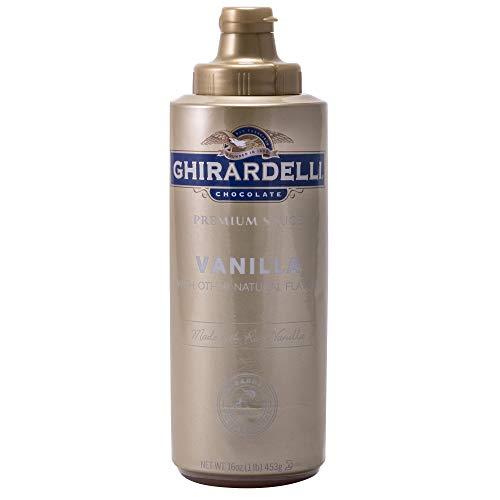 Ghirardelli Chocolate Premium Sauce Vanilla, 16.0 OZ