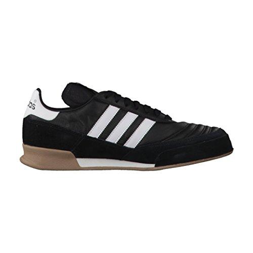 adidas Mundial Goal, Chaussures de Futsal Mixte Adulte noir/blanc/blanc