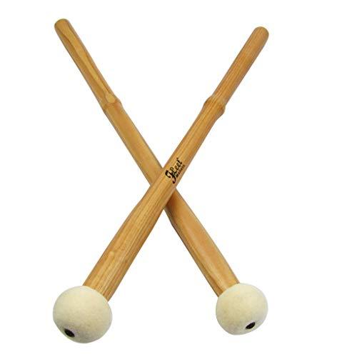 - FidgetGear 1 Pair of Timpani Mallets Kettle Drum Mallets Hard Felt Head Hickory Handle