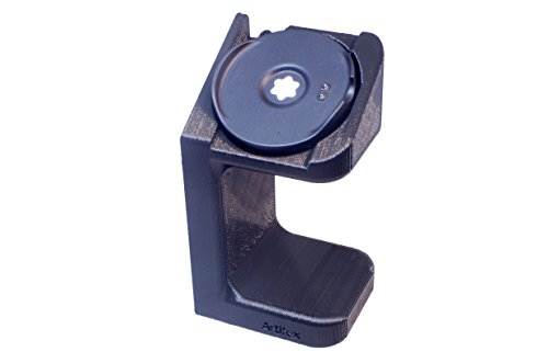 Artifex Design Stand Configured for MontBlanc Summit Smart Watch, Smartwatch Cradle (Black)