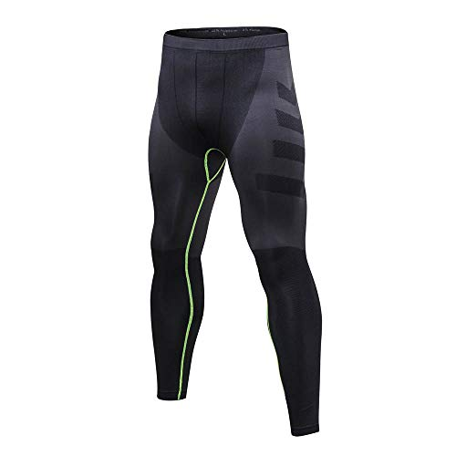 Gambali Leggings Collants Uomo Pantaloni Esecuzione Amlaiworld Sport Fresco Verde Fitness Yoga TlF1KuJ3c