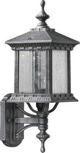 Huxley Uplight Wall Lantern Finish: Rustic Silver