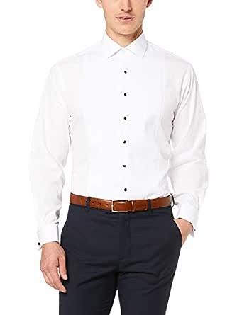 Van Heusen Euro Tailored Fit Business Shirt, White, 37 82