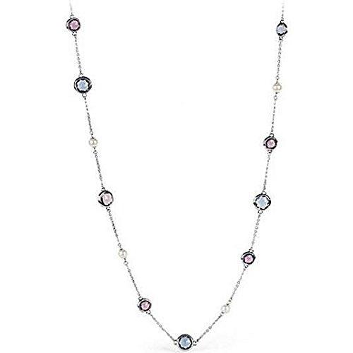 prezzo competitivo f334a 206f8 Brosway - Collana Lunga Acciaio con Cristalli Colorati e ...