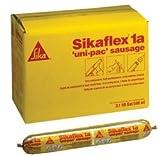 Sikaflex 1A 20 Oz. Black Sausage Pack Polyurthane Sealant