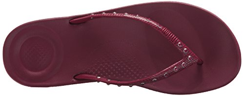 e7a88bfe8 FitFlop Women s Iqushion Ergonomic Flip Flops-Crystal Slide - Import ...