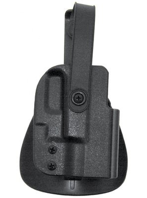 Kydex Thumb Break Paddle Holsters Size 21 Glock 17/22/19/23 Blac