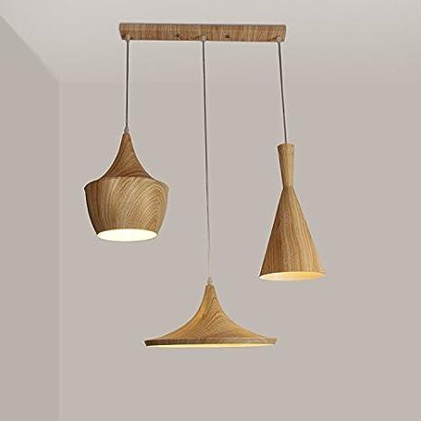 GS~LY il legno-colore granella strumenti musicali lampadari camera ...