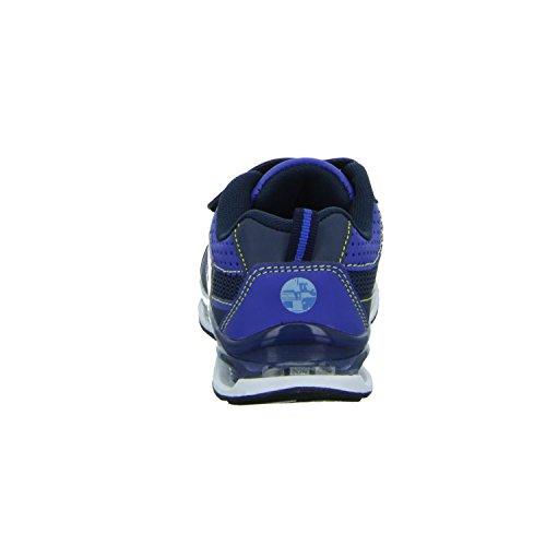 MINIONS 1411820 Jungen Klettverschluss/Slipper Halbschuh Blau (Blau)