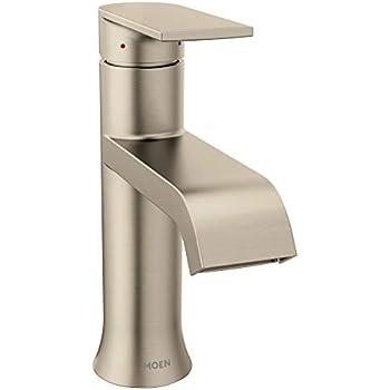 Includes Drain Assembly Moen WSL84733SRN Danika 1-Hole Bathroom Faucet