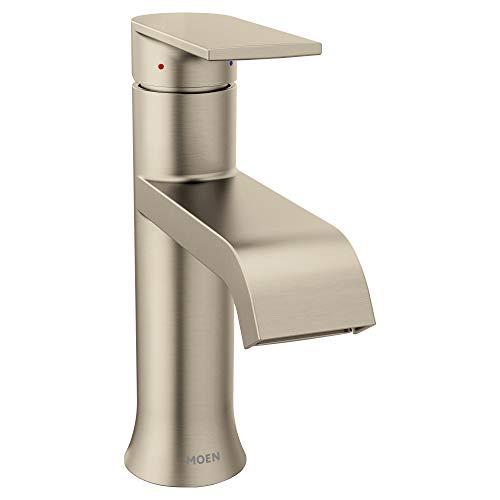 Moen 6702BN Genta Bathroom Faucet Brushed Nickel