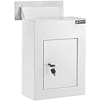 Amazon Com Adiroffice Through The Wall Drop Box Safe