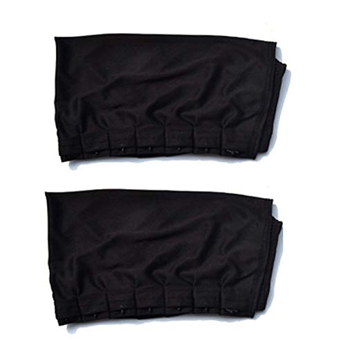 Price comparison product image Car Window Curtains Adjustable Car Window Anti-UV Sun Shade Drape Visor Curtain Valance Cars Accessories 2Pcs(70L)